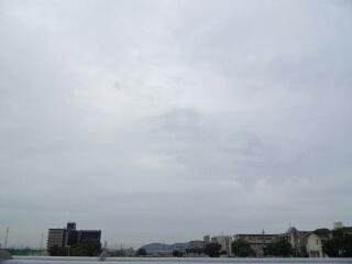 今朝の空150708